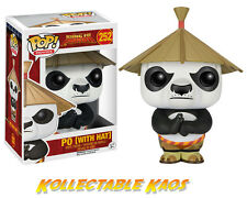 Kung Fu Panda - Po with Hat Pop! Vinyl Figure