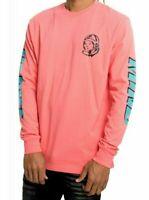 Billionaire Boys Club RIDER T Shirt Long Sleeve Sugar Coral 891-1205