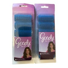 Goody Go Curl Self Holding Grip Rollers  - 12 Rollers Blue