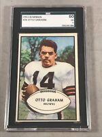1953 BOWMAN #26 OTTO GRAHAM SGC 60 EX 5 HOF