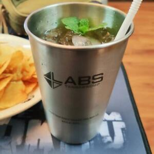 Escape From Tarkov TerraGroup Labs Stainless Steel Water Cup Beer Coke Mug Prop