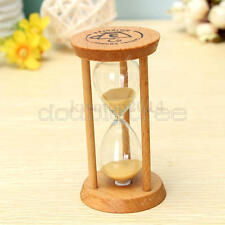 Frame Cute Sand Glass Sandglass Hourglass Timer Clock Time Decor Gift 3 Minutes