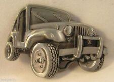 Markenlose Herren-Gürtelschnallen aus Metall mit Fahrzeug -/Transport-Motiv