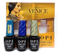 OPI Gelcolor - VENICE 2015 - 3 Limited Edition Colors x 0.5oz - GCV37, V38 & V39
