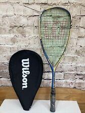 Wilson Ripper Team 140 Squash Racket RRP £139.99 BNWT Racquet + Head Cover Slip