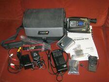 VHS Camorder Videokamera Videocamera  + Anleitung+ Zubehörpaket JVC GR HF 700