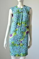 Class Roberto Cavalli Dress Blue Floral Size US 8 I 42