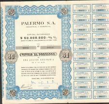 PALERMO SA (ARGENTINE) (I)