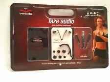 Brand New Sealed V-Moda Faze audio, noise isolating in ear headphones NOS