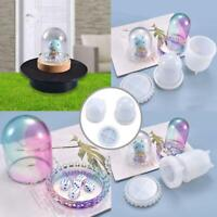 DIY Mold Self-made Multi-purpose Transparent Cover Dice Cup Silicone Mold