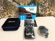 Escort Max 360 Laser Radar Detector   WiFi   Bluetooth  + Box, Case & Paperwork