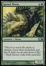 1x FOIL Spined Wurm M11 MtG Magic Green Common 1 x1 Card Cards