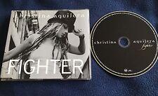 CHRISTINA AGUILERA CD PROMO FIGHTER ~ EU FIGHTER1