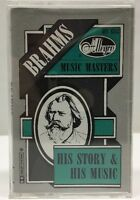 Brahms Allegro Music Masters His Story & His Music Cassette Tape ACS 8513
