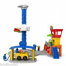 Fisher Price Little People Spinnin' Sounds Airport Playset - New