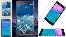 2 x cristal claro tanques láminas protectoras de pantalla Samsung Galaxy Note Edge clear TPU