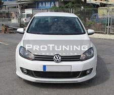 Valance Chin Lip V Look Spoiler For VW Golf 6 VI