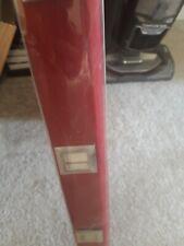 Red Roller blind 60x170