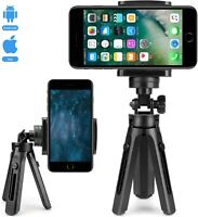 Universal Tripod Mini Mobile Phone Holder Stand Grip For iPhone Camera Samsung
