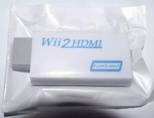 Wii 2 HDMI Konverter Adapter 1080P Nintendo Wii Scart Umwandler Funktioniert 100
