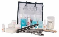 THE EDGE NAIL UV GEL STARTER KIT false nails tips files student clear pink white