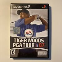Tiger Woods PGA Tour 07 PS2 Sony PlayStation 2 Video Game Complete & Tested