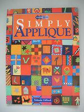 Simply Applique - Yolanda Gifford - Applique Pattern Book