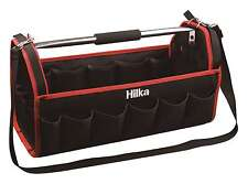 "HILKA 20"" Tote Tool Caddy Bag Carry Case With Heavy Duty Base Holdall 27 Pockets"