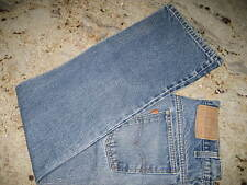 Vintage! ORANGE Tab! LEVI'S 505 JEANS Straight Fit MENS 32 x 29 Lite DISTRESS