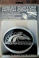 American IronHorse Motorcycles Aih Cast Metal 4 inch Hitch Cover