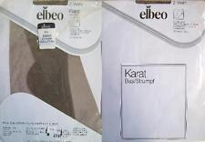 1 x NYLONS - ELBEO KARAT - DIAMANT - 30 DEN - 60/70er - GR. 8 1/2