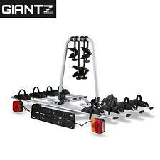 Towbar Towball Hitch Ball Mount 4 Bicycle Bike Carrier Rack for Car Giantz
