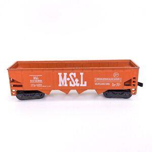 Maisto N Gauge M StL #541080 Minneapolis & St Louis N-Scale Red Train Hopper Car