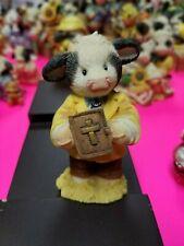 Mary Moo Moos Figurine - Peace Be With Moo