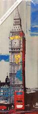 Leinwand Bild Big Ben Print & Paint Wandbild London 30 x 90 cm
