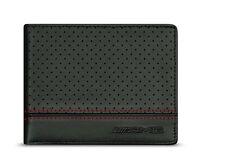 orig Mercedes Benz AMG Briefcase Wallet Lamb leather black new