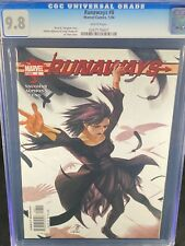 Runaways #8 CGC 9.8 2004 Marvel Comics A283