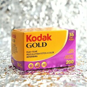 *NEW* Kodak Gold 200 35mm (36 exposures) film