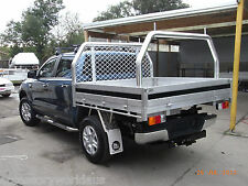 75mm Rear Ladder Rack Removable Polished to suit a 1875mm Wide Tray FREE FREIGHT