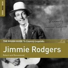 Jimmie Rodgers - The Rough Guide to Country Legends (NEW CD 2013, Bonus CD)