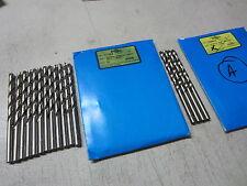 "6 new GREENFIELD 23//64/"" Jobber Length JL Cobalt Twist Drill Bits 311512 USA"