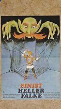 (D92) DDR-Plakat FINIST HELLER FALKE 1976