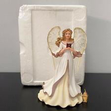 "New ListingThomas Kinkade Angel of Faith Inspirations Collection Figurine 6.5"" Mip"