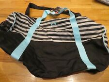NWT Gray, Black & Green Under Armour Favorite Storm Duffel Bag