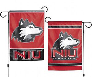 """Northern Illinois University Huskies NCAA Garden Flag Double Sided 12.5"""" x 18"""""""