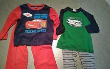 Paket aus zwei Schlafanzügen Schlafanzug Pyjama Schlafi Cars Topolino Gr 110 116