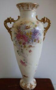 antique 1900s ROYAL BONN Germany MANTLE VASE 5129 imperfect