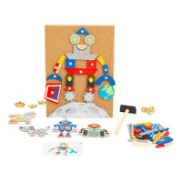 NEW! Legler Small Foot Children's Robots Hammering Game Unisex Six Years And Abo