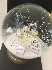CHANEL NO.5 L'EAU SNOW GLOBE VIP GIFT NEW & AUTHENTIC