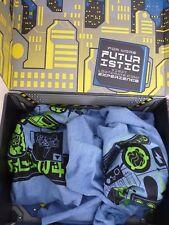 Tshirt Rick morty bundle loot crate ladys xl capped mens large blue Futuristic